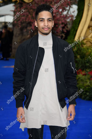 Troy Von Scheibner poses for photographers upon arrival at the European premiere of the film 'Alice Through The Looking Glass' at a central London cinema, London