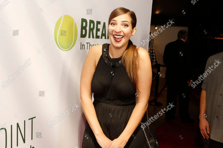 Gabbie Hanna seen at Broad Green Pictures Special Screening of 'Break Point' at TCL Chinese Theatre, in Hollywood, CA