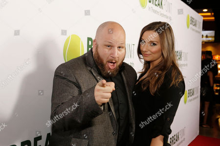 Stephen Kramer Glickman and Rachel Ann Mullins seen at Broad Green Pictures Special Screening of 'Break Point' at TCL Chinese Theatre, in Hollywood, CA