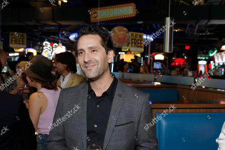 Director Jay Karas seen at Broad Green Pictures Special Screening of 'Break Point' after party at TCL Chinese Theatre, in Hollywood, CA