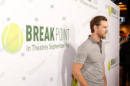 Brad Benedict seen at Broad Green Pictures Special Screening of 'Break Point' at TCL Chinese Theatre, in Hollywood, CA