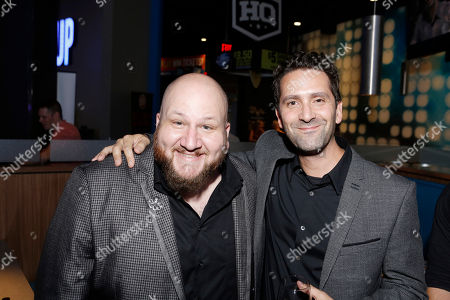 Stephen Kramer Glickman and Director Jay Karas seen at Broad Green Pictures Special Screening of 'Break Point' after party at TCL Chinese Theatre, in Hollywood, CA
