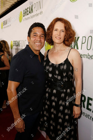 Oscar Nunez and Ursula Whittaker seen at Broad Green Pictures Special Screening of 'Break Point' at TCL Chinese Theatre, in Hollywood, CA