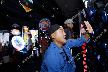 Writer/Co-producer Gene Hong seen at Broad Green Pictures Special Screening of 'Break Point' after party at TCL Chinese Theatre, in Hollywood, CA