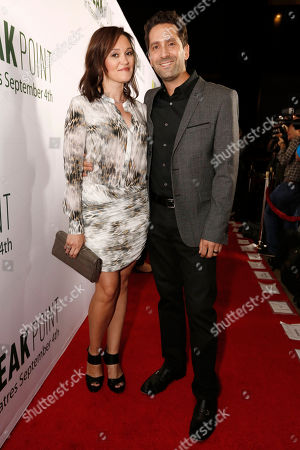 Director Jay Karas and guest seen at Broad Green Pictures Special Screening of 'Break Point' at TCL Chinese Theatre, in Hollywood, CA