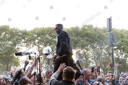 Jay Electronica performs at The Budweiser Made In America Festival, in Philadelphia