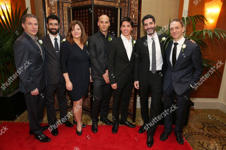 Editorial photo of Canadian Nominees Luncheon for 2013 Academy Awards, Beverly Hills, USA