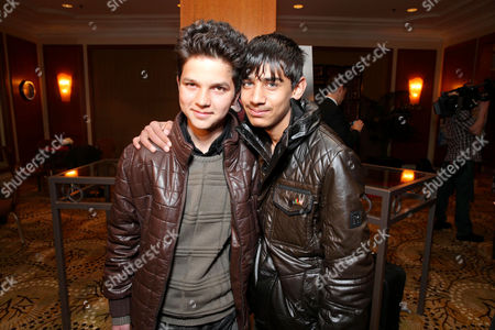 Stock Picture of Jawanmard Paiz and Fawad Mohammadi at The Canadian Consulate Pre Oscar Luncheon for the 2013 Academy Awards, on Thursday, Feb., 21, 2013 in Beverly Hills