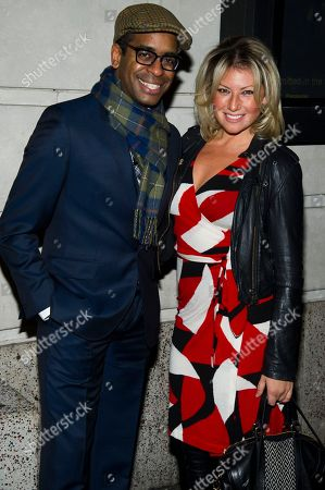 "Daniel Breaker and Ari Graynor attend the opening night performance of the Broadway play ""Cat on a Hot Tin Roof"" on in New York"