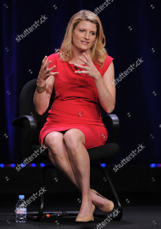 """Creator/co-executive producer Dana Calvo participates in the CBS """"Made In Jersey"""" TCA panel on in Beverly Hills, Calif"""