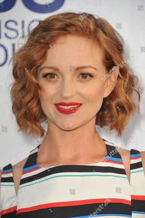 Jayma Mays arrives at CBS Television Studios Summer Soiree at The London Hotel on in Los Angeles