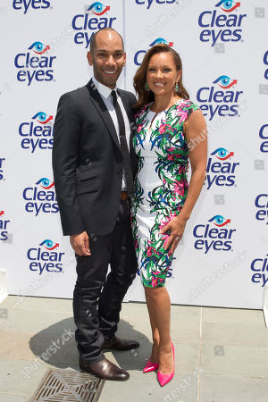 Editorial photo of Clear Eyes Media Event with Vanessa Williams, New York, USA