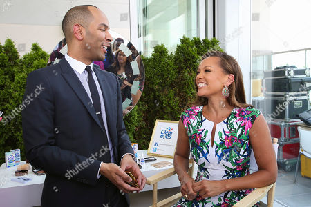 Editorial image of Clear Eyes Media Event with Vanessa Williams, New York, USA