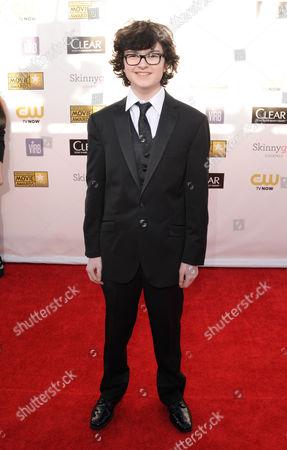 Jared Gilman arrives at the 18th Annual Critics' Choice Movie Awards at the Barker Hangar, in Santa Monica, Calif