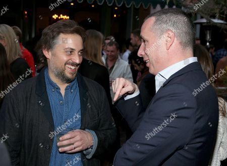James DeJulio, left, and Dan Peres, Editor-In-Chief, DETAILS Magazine, attend Digital Mavericks 2014 hosted by DETAILS and MR PORTER at 41 Ocean Club, in Santa Monica, Calif