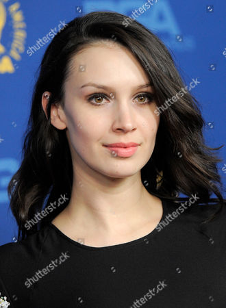 Alixandra von Renner arrives at the 65th Annual Directors Guild of America Awards at the Ray Dolby Ballroom, in Los Angeles