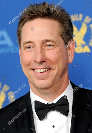 Mark Cendrowski arrives at the 65th Annual Directors Guild of America Awards at the Ray Dolby Ballroom, in Los Angeles