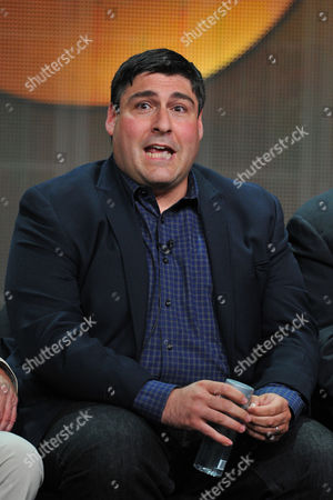 Producer Adam F. Goldberg attends the Disney/ABC Television Group's 2013 Summer TCA panel at the Beverly Hilton Hotel on in Beverly Hills, Calif