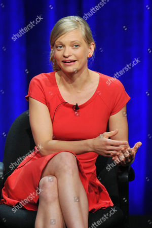 Actress Anastasia Phillips attends the Disney/ABC Television Group's 2013 Summer TCA panel at the Beverly Hilton Hotel on in Beverly Hills, Calif