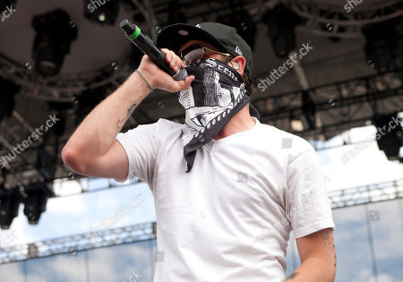 Charlie Scene of Hollywood Undead performs at EPICENTER '09: 'So Cal's Rock Explosion' at the Fairplex on in Pomona, California