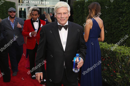 Stock Image of Robert Morse arrives at the 67th Primetime Emmy Awards, at the Microsoft Theater in Los Angeles