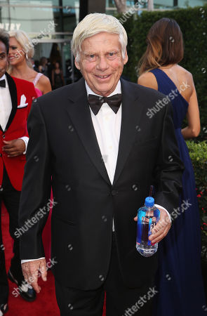 Editorial picture of FIJI Water at the 67th Primetime Emmy Awards, Los Angeles, USA