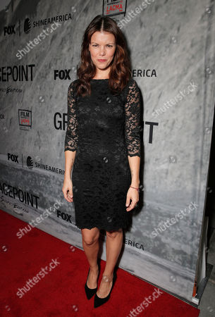 Sarah Jane Potts attends the Film Independent Screening of Fox's 'Gracepoint' at Bing Theatre at LACMA on in Los Angeles