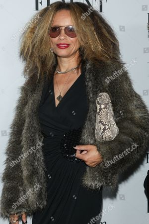 """Director Victoria Mahoney arrives at Flaunt Magazine's """"The Battle Issue"""" party at Hakkasan on in Beverly Hills, Calif"""