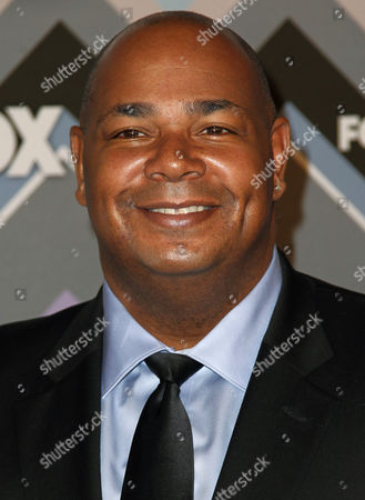 Kevin Michael Richardson arrives at the Winter TCA Fox All-Star Party at the Langham Huntington Hotel, in Pasadena, Calif