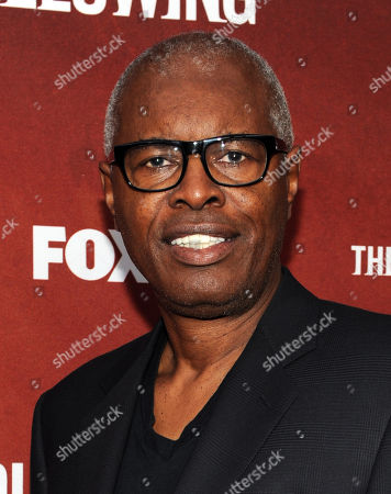 "Stock Photo of Actor John Lafayette arrives at FOX's ""The Following"" finale screening at the Academy of Television Arts & Sciences' Leonard H. Goldenson Theater on in North Hollywood, California"