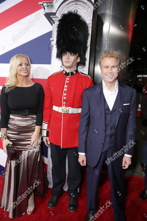 Screenwriters Katrin Benedikt and Creighton Rothenberger seen at Grammercy Pictures Present the Los Angeles Premiere of 'London Has Fallen' at ArcLight Hollywood, in Hollywood, CA