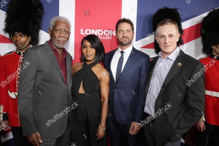 Editorial picture of Gramercy Pictures Present the Los Angeles Premiere of 'London Has Fallen', Hollywood, USA