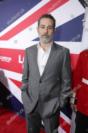 Waleed Zuaiter seen at Grammercy Pictures Present the Los Angeles Premiere of 'London Has Fallen' at ArcLight Hollywood, in Hollywood, CA