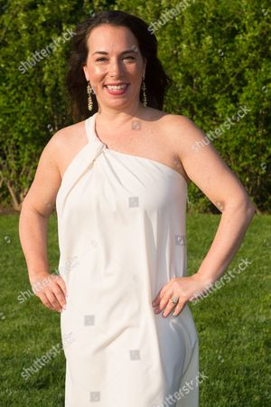 Editor in Chief of Hamptons Magazine Samantha Yanks attends Hamptons Magazine Memorial Day Soiree at a private estate in Sagaponack, in New York