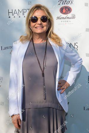 Hamptons Magazine publisher Debra Halpert attends Hamptons Magazine Memorial Day Soiree at a private estate in Sagaponack, in New York