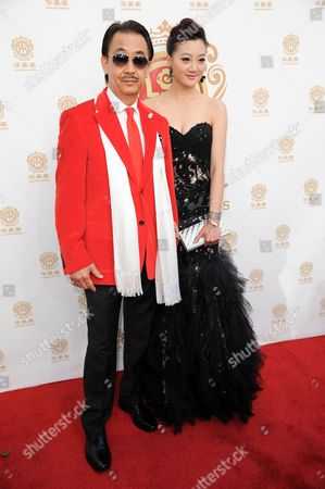 Stock Picture of George Cheung arrives at the Huading Film Awards held at the Ricardo Montalban Theater on in Los Angeles