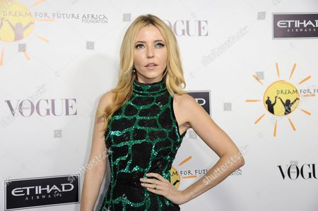 Madison Walls arrives at the inaugural Dream for Future Africa Foundation Gala at Spago on in Beverly Hills, Calif
