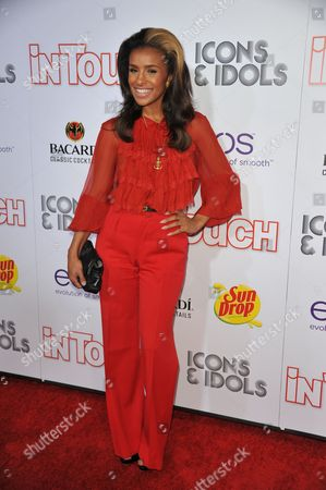 Melody Thorton attends InTouch Icons and Idols at the Chateau Marmont, in West Hollywood, Calif