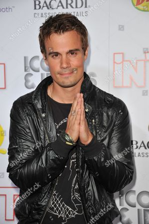 Gregory Michael attends InTouch Icons and Idols at the Chateau Marmont, in West Hollywood, Calif