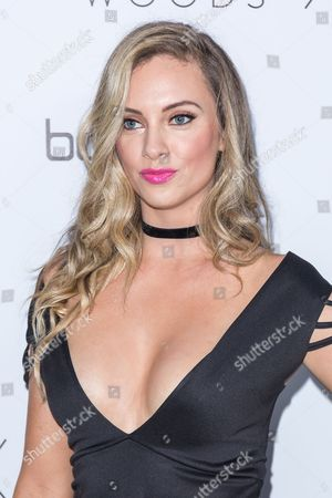 Nicole Arbour arrives at the Jordyn Woods x boohoo.com Launch Event at the Neuehouse Hollywood, in Los Angeles