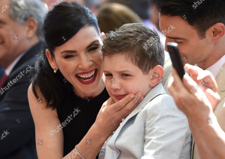 Editorial picture of Julianna Margulies Honored With A Star On The Hollywood Walk Of Fame, Los Angeles, USA