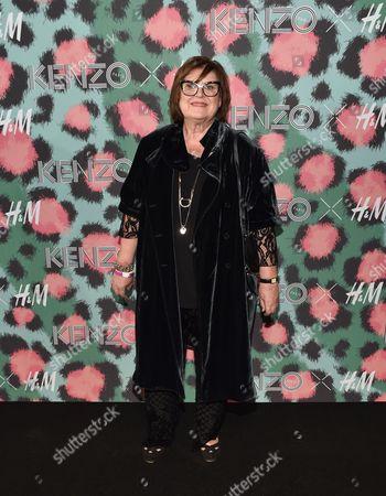 Editorial image of Kenzo x H&M Runway Show, New York, USA