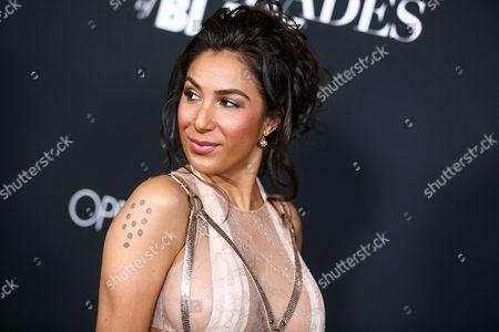 "Liana Mendoza attends the LA Premiere of ""50 Shades of Black"" held at Regal L.A. Live, in Los Angeles"
