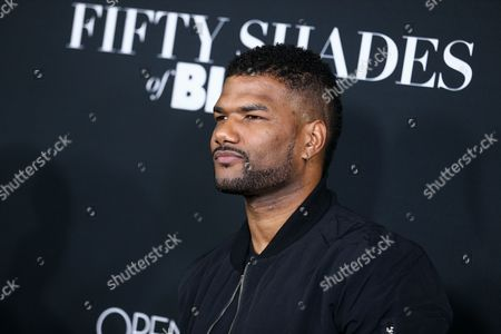 """Damien Dante Wayans attends the LA Premiere of """"50 Shades of Black"""" held at Regal L.A. Live, in Los Angeles"""