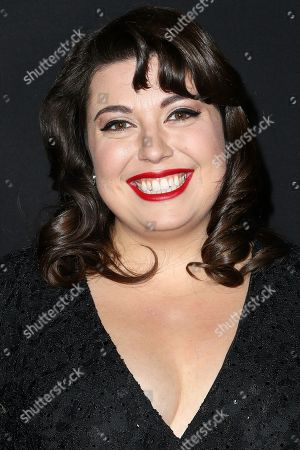 """Jenny Zigrino attends the LA Premiere of """"50 Shades of Black"""" held at Regal L.A. Live, in Los Angeles"""
