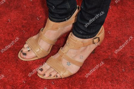 """Annie Tedesco arrives at the LA Premiere of """"Authors Anonymous"""", in Los Angeles"""