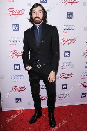 "Allan Dobrescu arrives at the LA Premiere of ""Fargo"" Season two, at Arclight Cinemas Hollywood in Los Angeles"