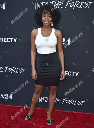 """Milauna Jackson arrives at the Los Angeles premiere of """"Into the Forest"""" at the Arclight Hollywood on"""