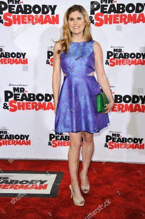 "Natalia Reagan arrives at the LA Premiere of ""Mr. Peabody & Sherman"" on in Los Angeles"