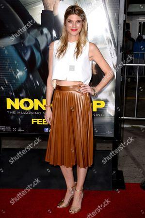 "Editorial photo of LA Premiere of ""Non-Stop"" - Arrivals, Los Angeles, USA"